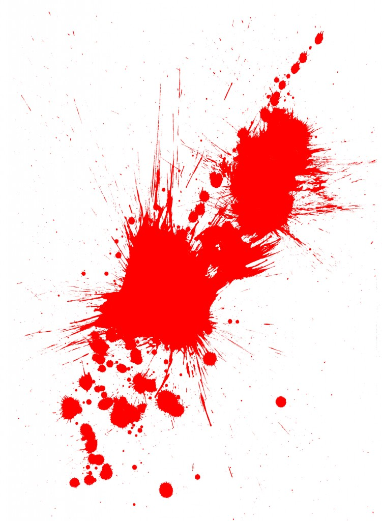 Red Paint Splatter Logo