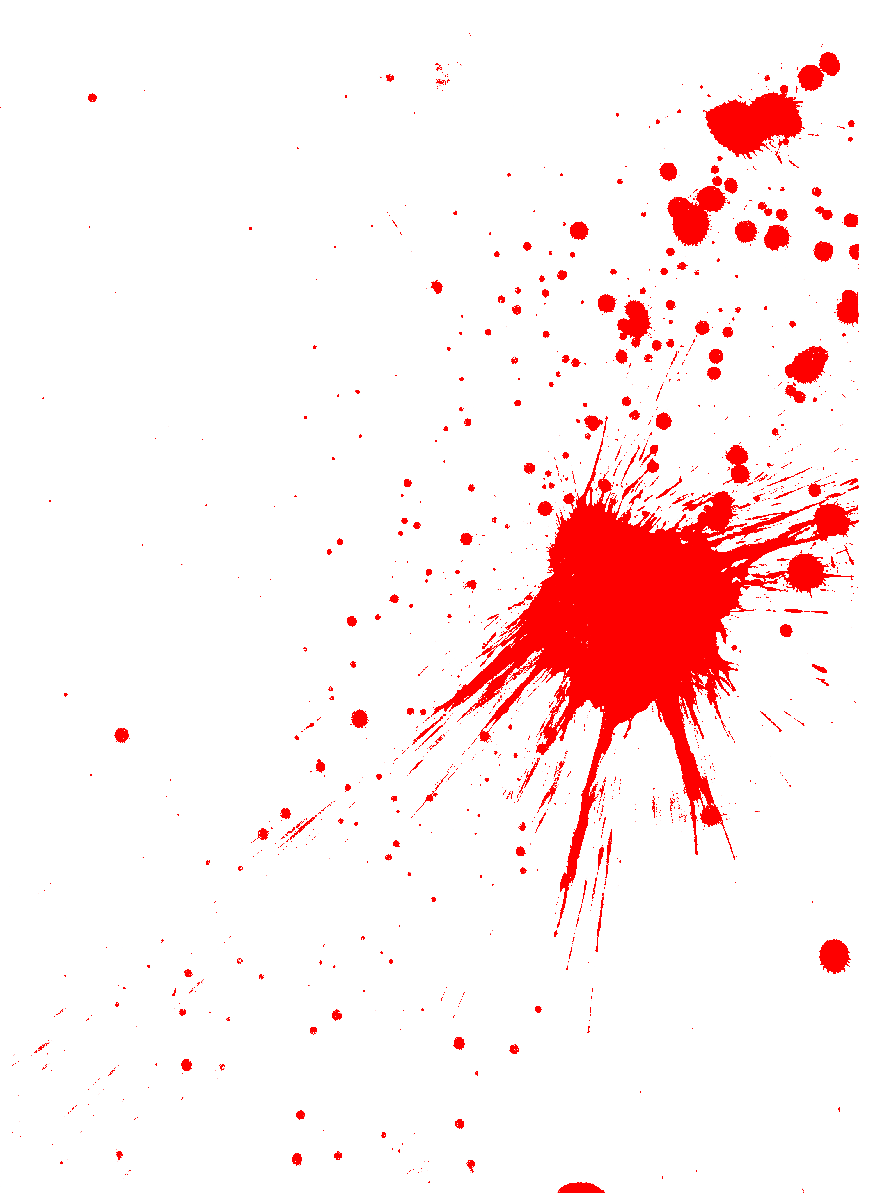 blood spatter Splatter blood for blood spatter analysis first we will let you in on a little secret when you or your brother or sister do something wrong, your.