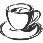 Coffee Cup Vector (EPS, SVG, PNG)