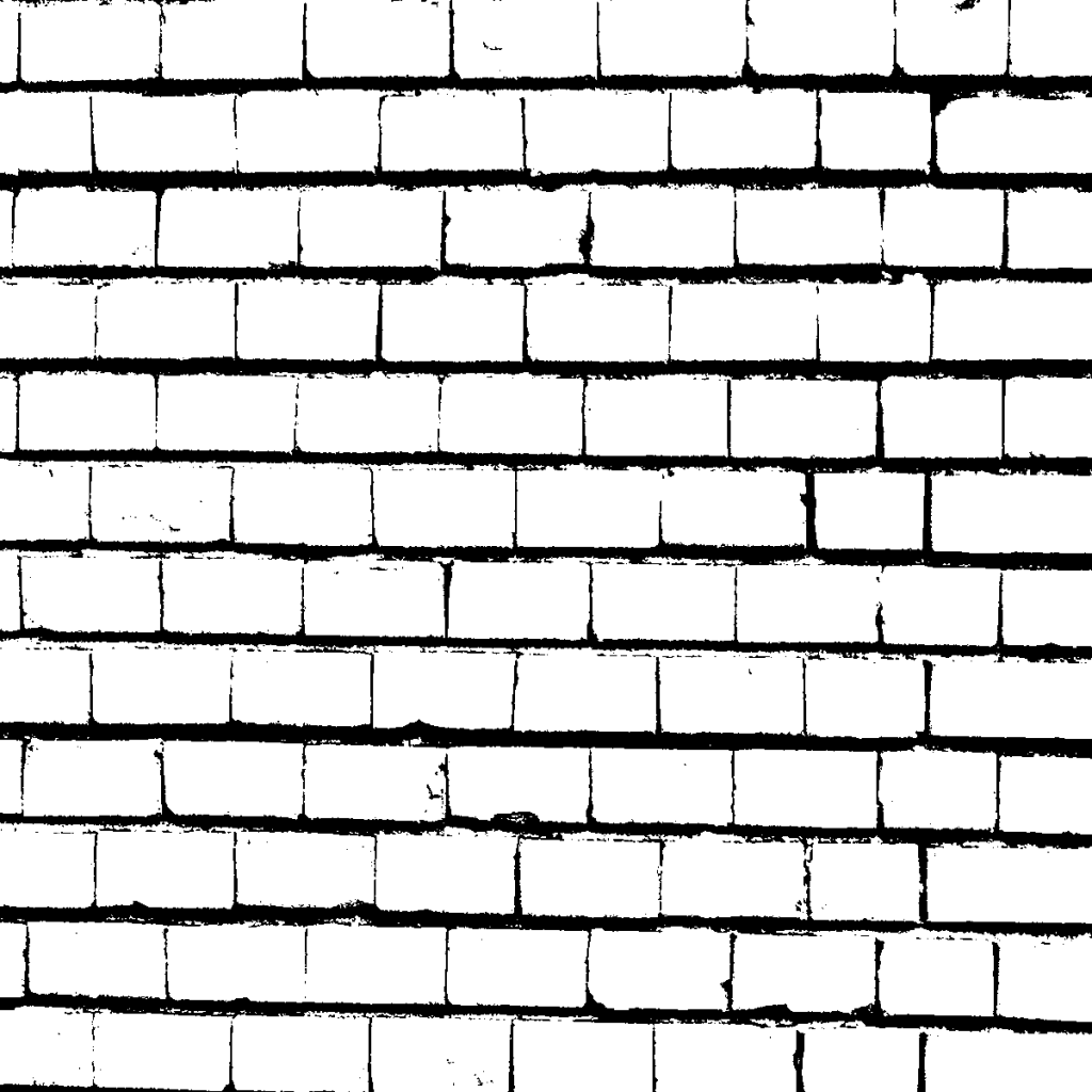 Brick Wall In Black And White Textures Png Onlygfx Com