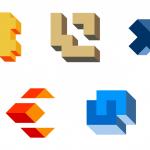 5 3D Logo Templates Vector (EPS, SVG, PNG)