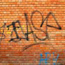 Graffiti Brick Wall Texture (JPG)