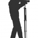 Photographer Silhouette Vector (EPS, SVG, PNG)