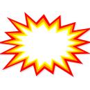 Starburst Explosion Vector (EPS, SVG, PNG)
