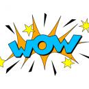 Wow Sound Blast Effect Illustration Vector (EPS, SVG, PNG)