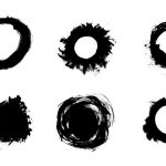 6 Grunge Circle Vector (EPS, SVG, PNG)