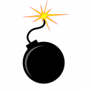 Bomb Vector (EPS, SVG, PNG)