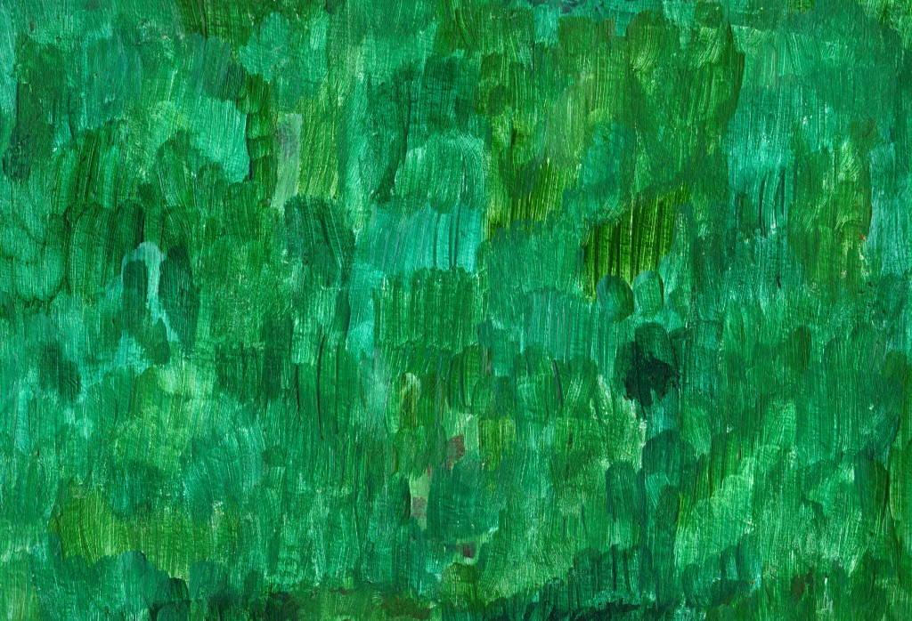 green-oil-paint