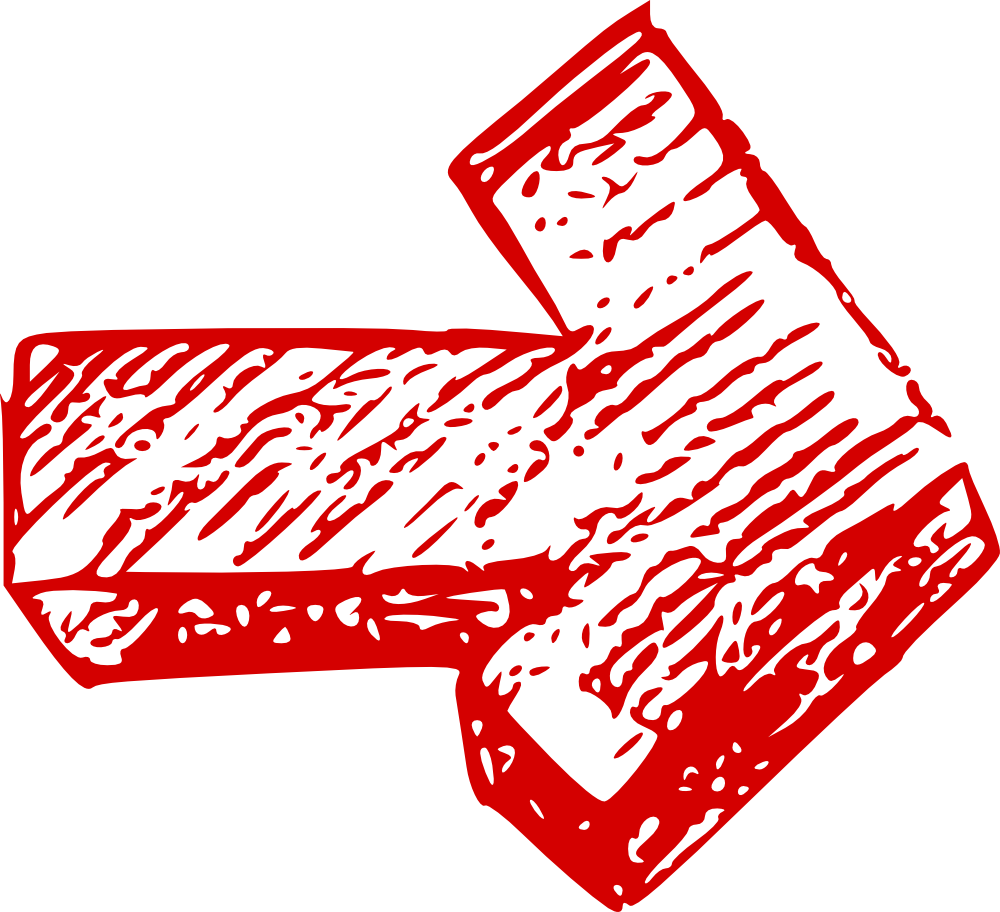 Pics For > Hand Drawn Red Arrow Png