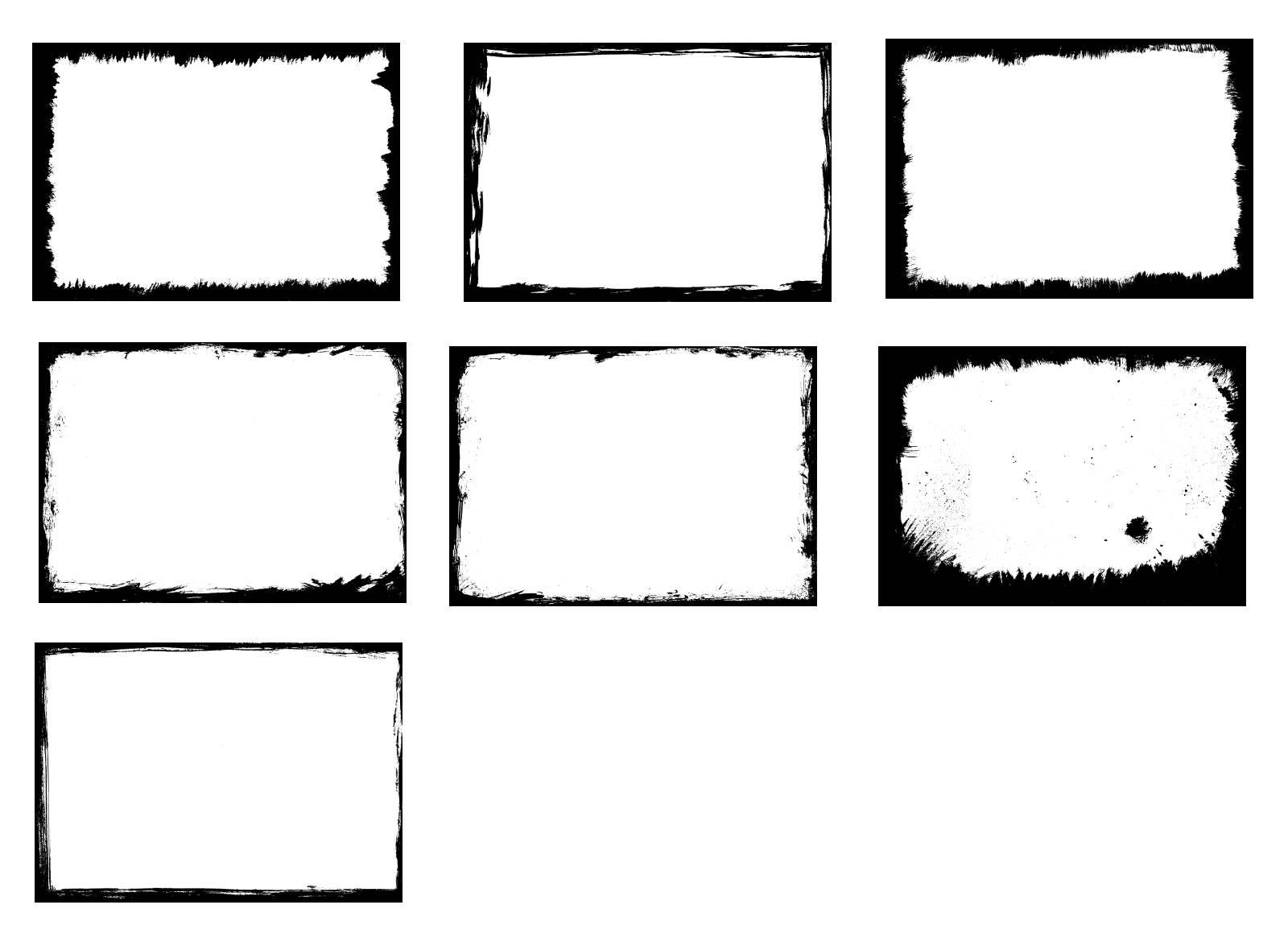 7 grunge frames svg eps psd png transparent onlygfx 7 grunge frames svg eps psd png transparent jeuxipadfo Images