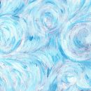Blue White Oil Paint Texture (JPG)