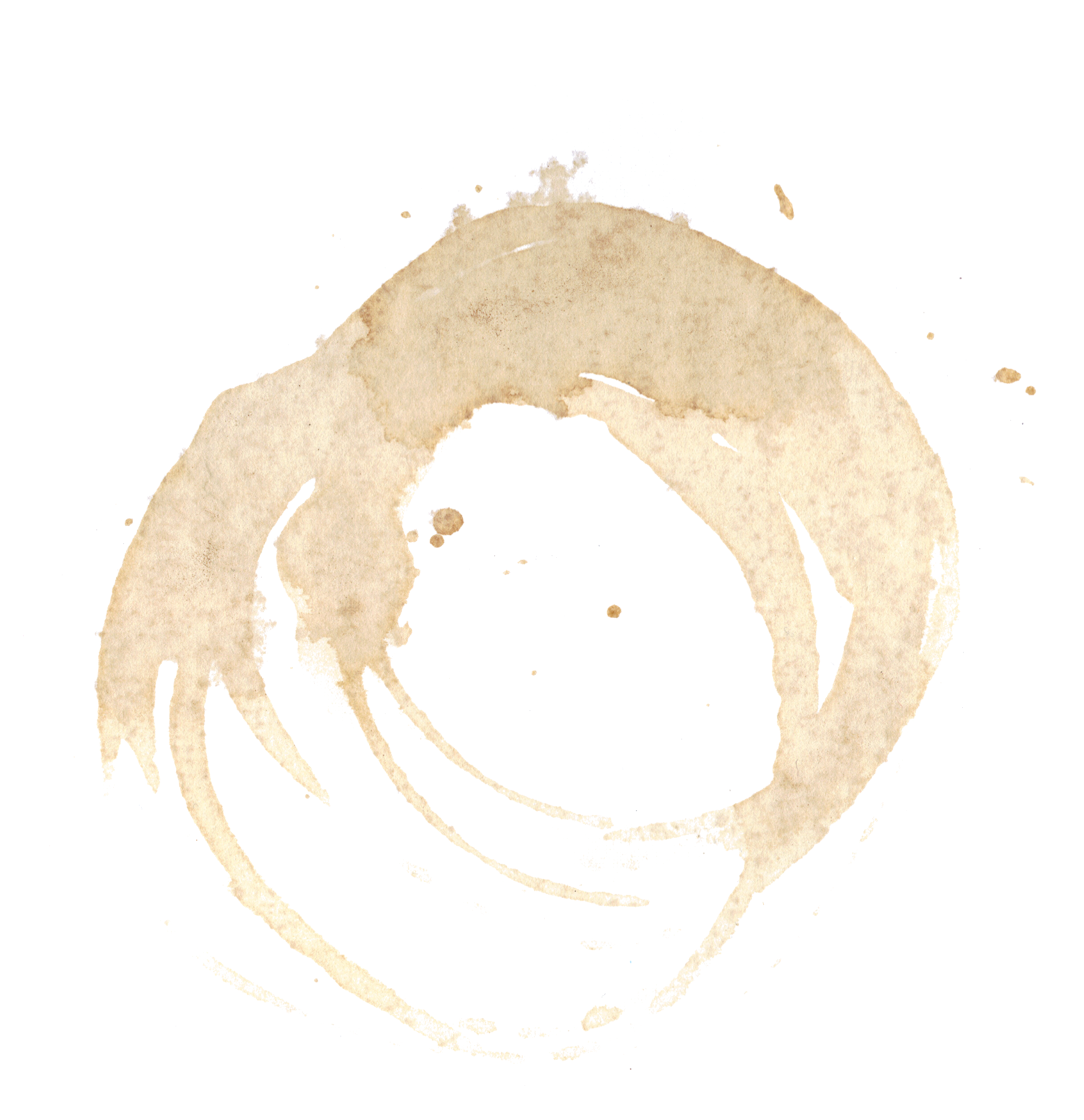8 Coffee Stain PNG Image Transparent