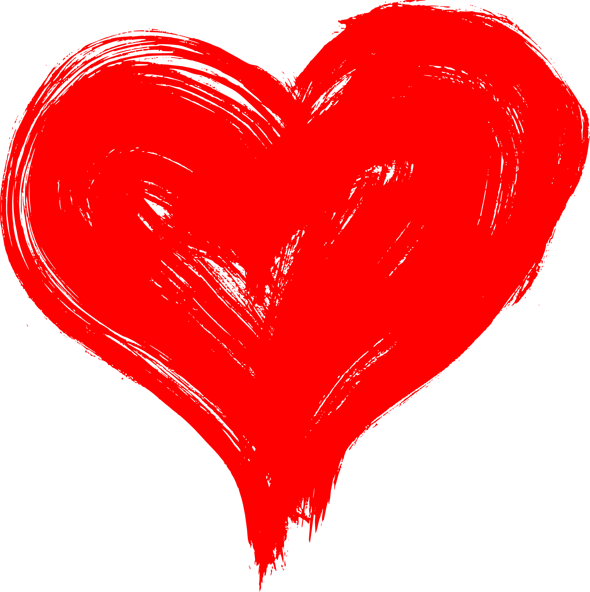 Hand Drawn Heart PNG Transparent   OnlyGFX.com