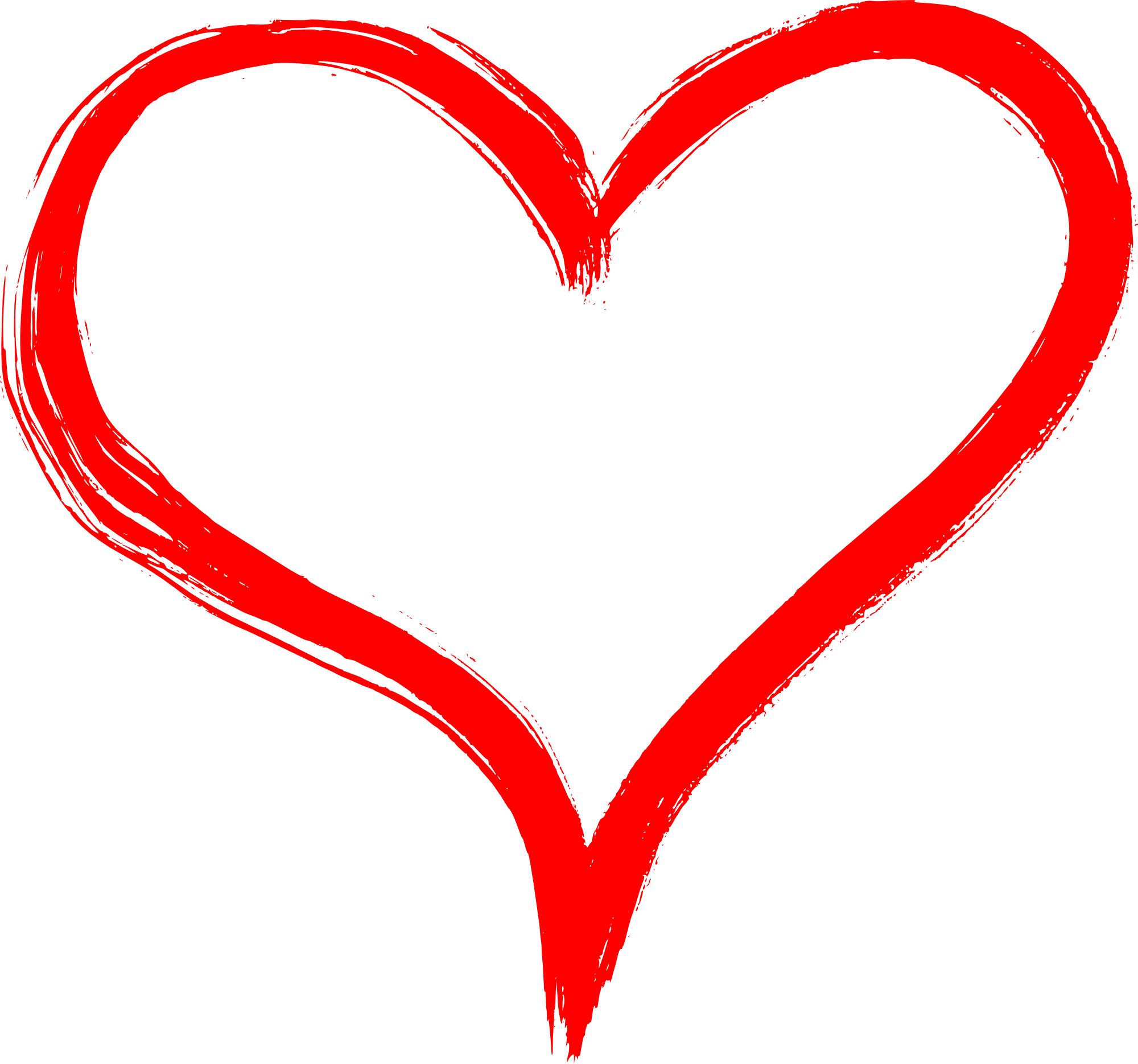 Hand Drawn Heart PNG Transparent | OnlyGFX.com