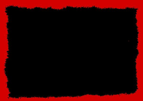 red grunge frame 2