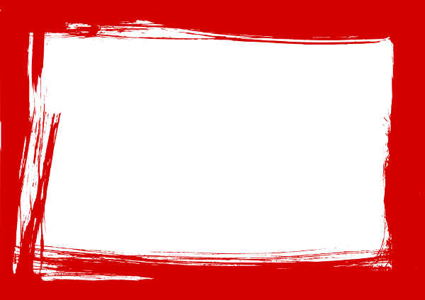 red grunge frame 3