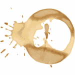 5 Coffee Stain Vectors (SVG) Vol. 2
