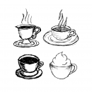 Hand Drawn Coffee Cups Vector (SVG)