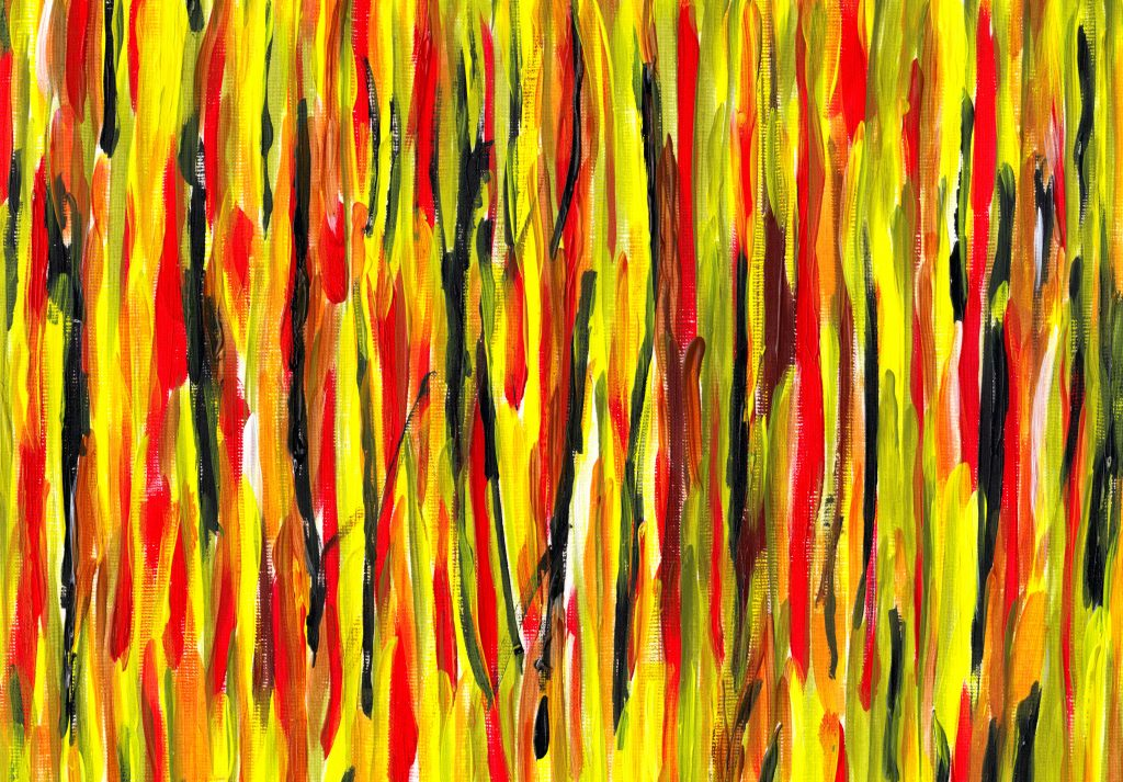 abstract-paint-vertical-lines