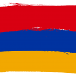 Flag of Armenia (PNG Transparent)