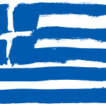 Flag of Greece (PNG Transparent)