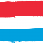 Flag of Luxembourg (PNG Transparent)