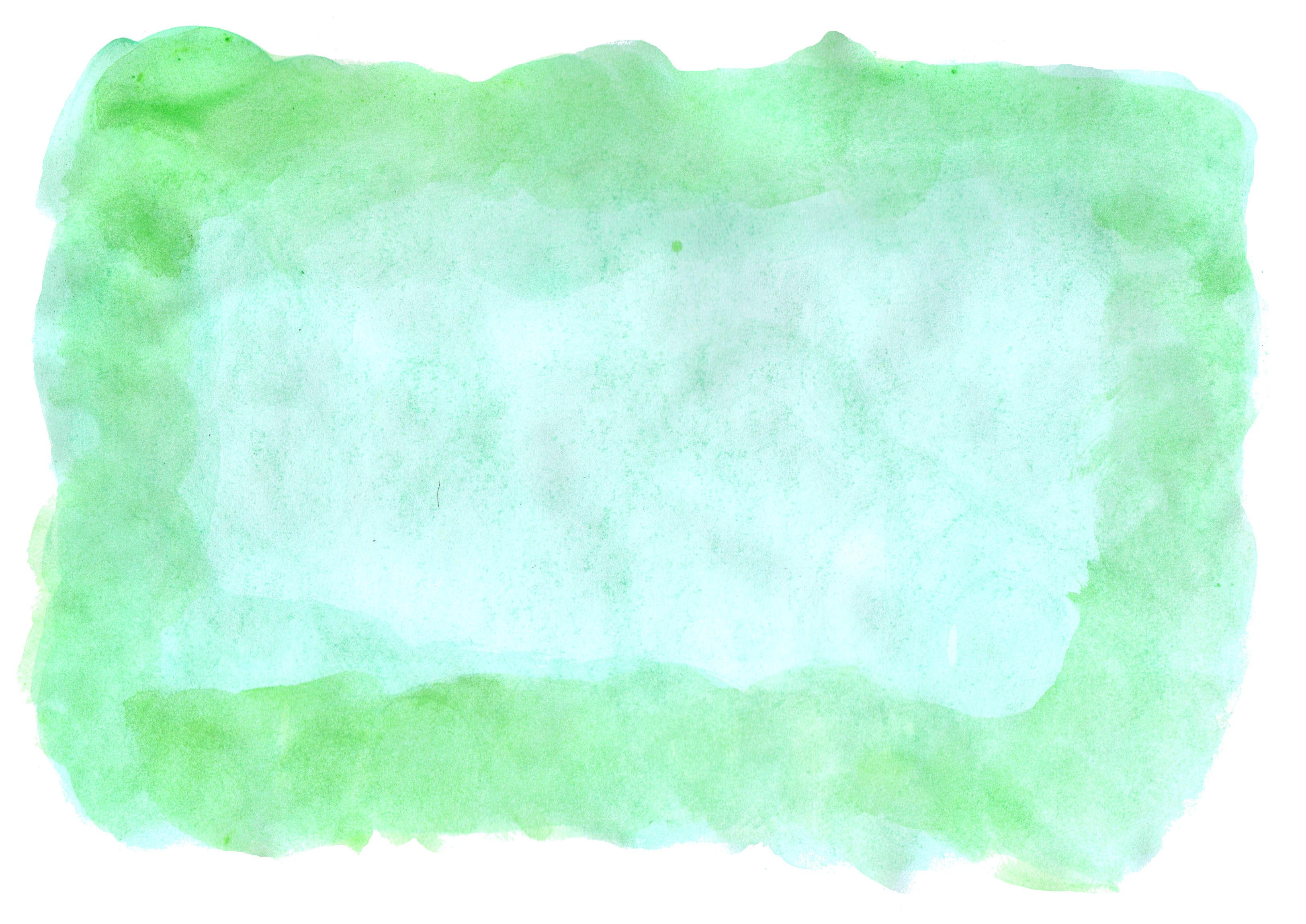 6 green watercolor textures  jpg