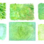 6 Green Watercolor Textures (JPG)