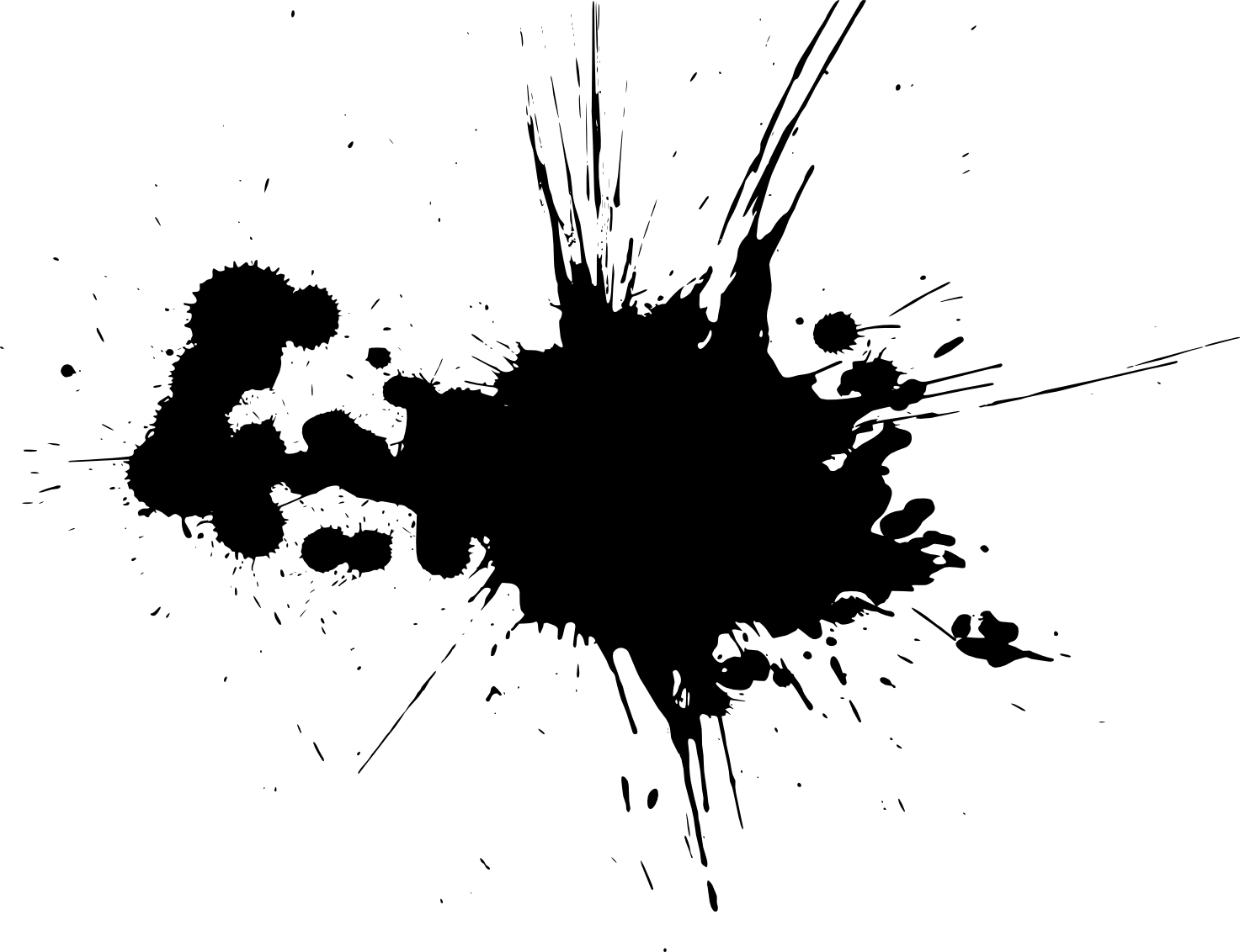 Black Paint Splash Png | www.pixshark.com - Images ...