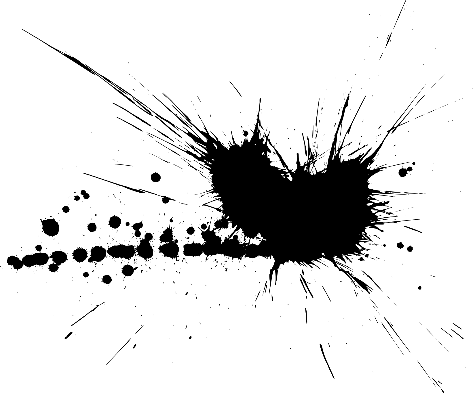 Photoshop brushes free paint splatter