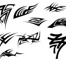 9 Tribal Tattoo (PNG Transparent) Vol. 2