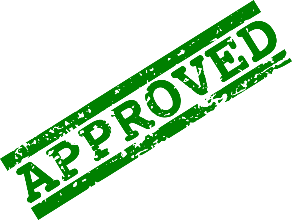 5 Red Green Approved Stamp (PNG Transparent) | OnlyGFX.com