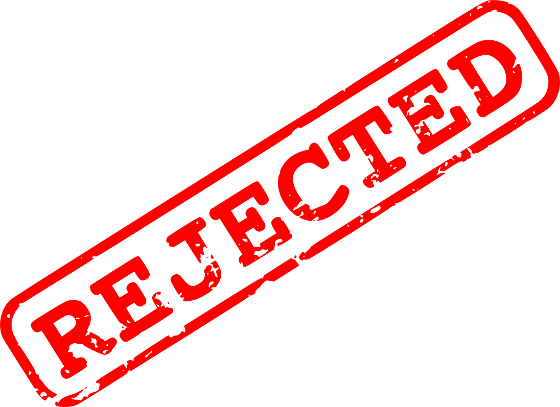 5 Red Rejected Stamp (PNG Transparent) | OnlyGFX.com