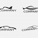 Sports Car Logo Vector (EPS,SVG)