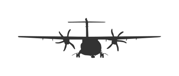 airplane-front-view-silhouette-2