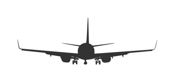 airplane-front-view-silhouette-3