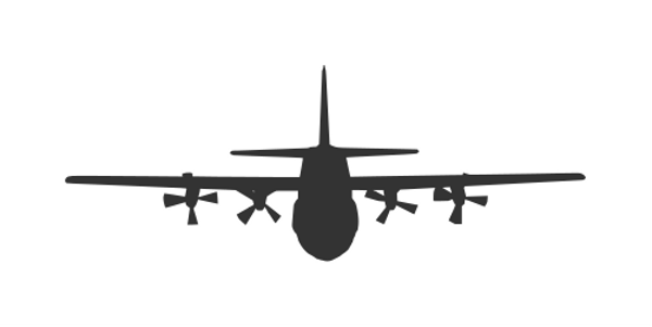 airplane-front-view-silhouette-5