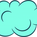 5 Clipart Clouds (PNG Transparent)