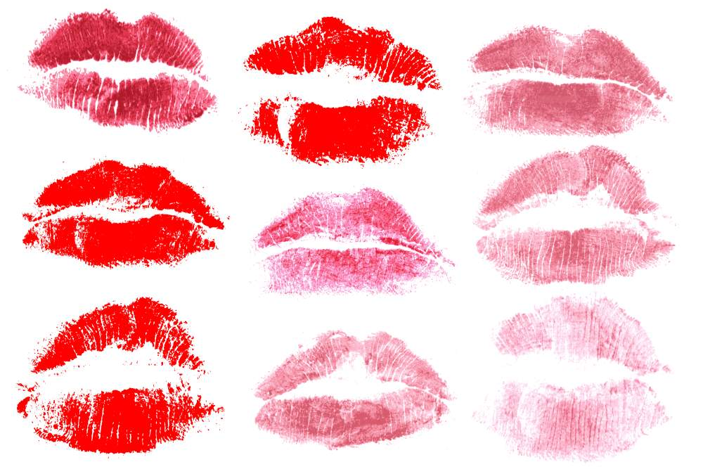9 red print of kiss lips png transparent onlygfxcom