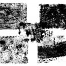 5 Grunge Overlay Textures (PNG Transparent)