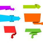 6 Arrow Banners Vector (PNG Transparent, SVG)