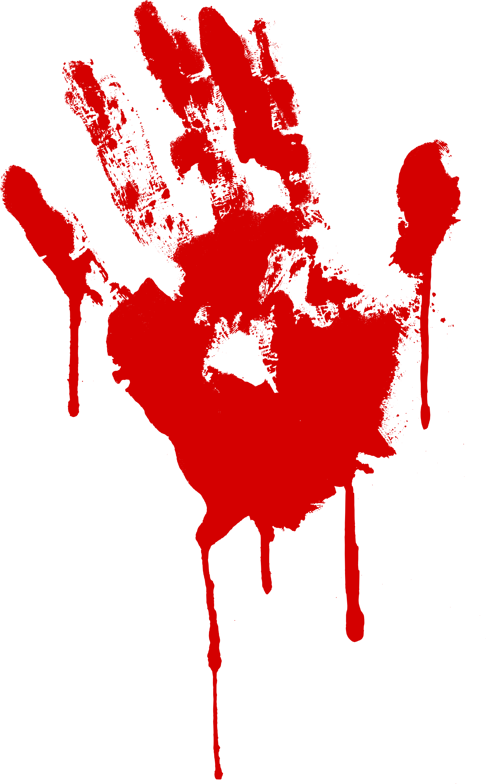 5 Red Bloody Handprint (PNG Transparent) | OnlyGFX com