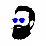 8 Hipster Beard Glasses Silhouette Vector