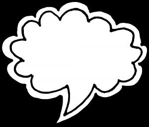 50 Hand Drawn Comic Speech Bubbles Vector (SVG, PNG
