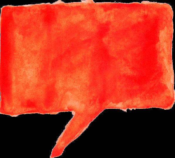 8 Watercolor Speech Bubbles Png Transparent Onlygfx Com