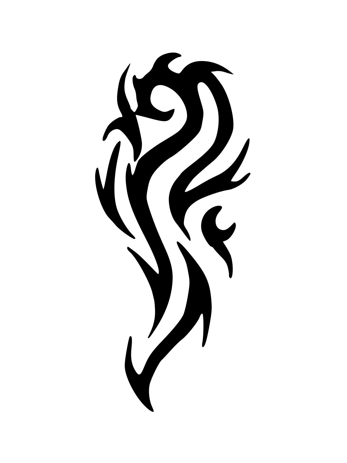 20 tribal tattoo design for inspiration. Black Bedroom Furniture Sets. Home Design Ideas