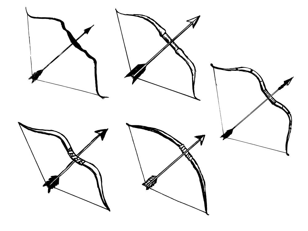 5 bow and arrow png transparent onlygfx com