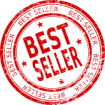 4 Best Seller Stamps (PNG Transparent)