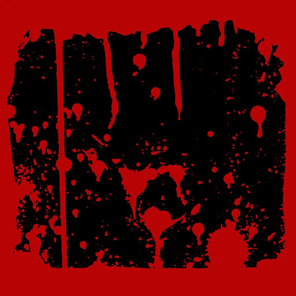 5 Blood Frames (PNG Transparent)   OnlyGFX.com