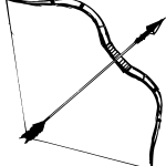 5 Bow and Arrow (PNG Transparent)